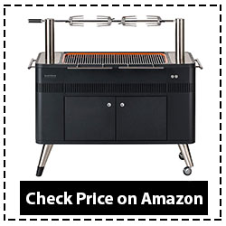 Everdure by Heston Blumenthal HUB 54-Inch Charcoal Grill