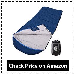 Tough Outdoors All-Season XL Hooded Sleeping Bag