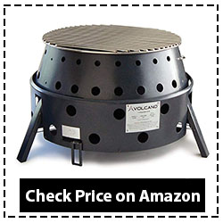 Volcano Grills 3-Fuel Portable Camping Stove